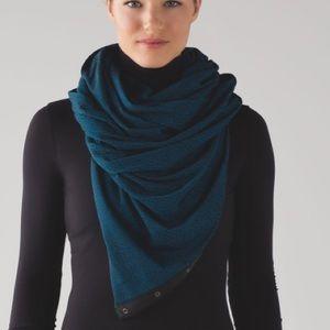 LULULEMON Vinyasa Jacquard Infinity Scarf One Size